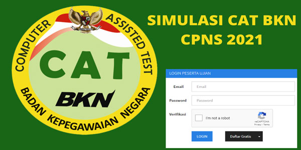 simulasi cat bkn cpns dan pppk 2021