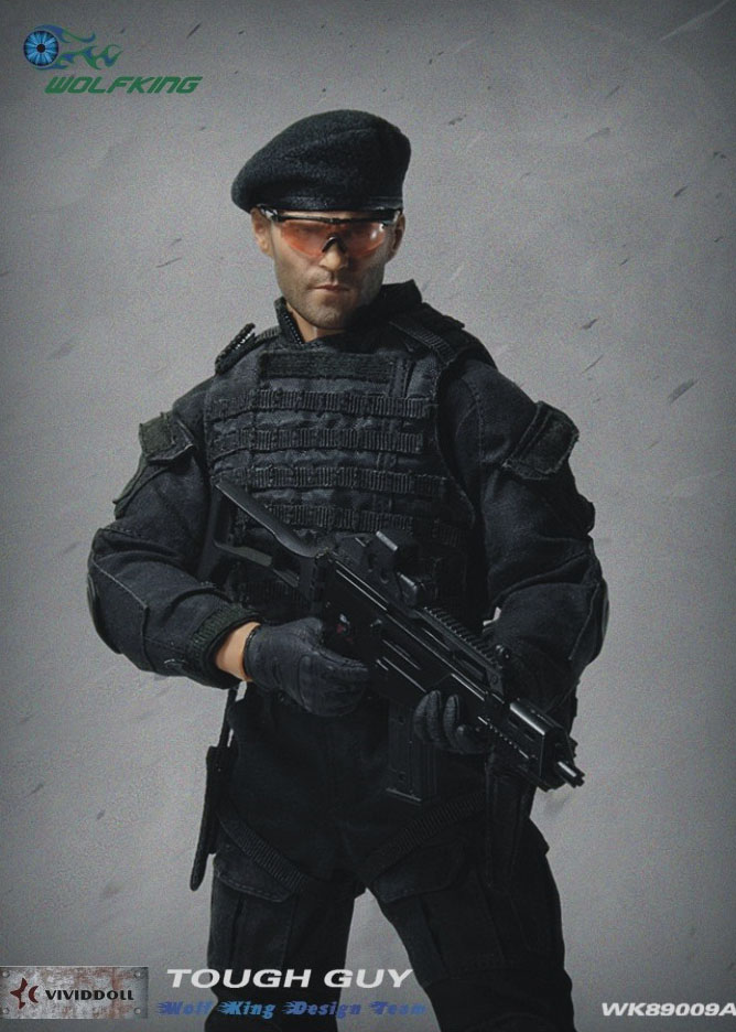 1:6 scale gear Special Forces green beret modern style with 7th group flash