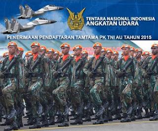 Cara Pendaftaran Online Tamtama TNI AU 2015/2016