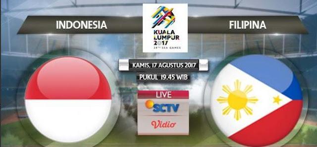 Prediksi Timnas Indonesia vs Filipina - SEA Games Kamis 17 Agustus 2017
