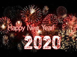 Happy New Year 2020 Stock Images