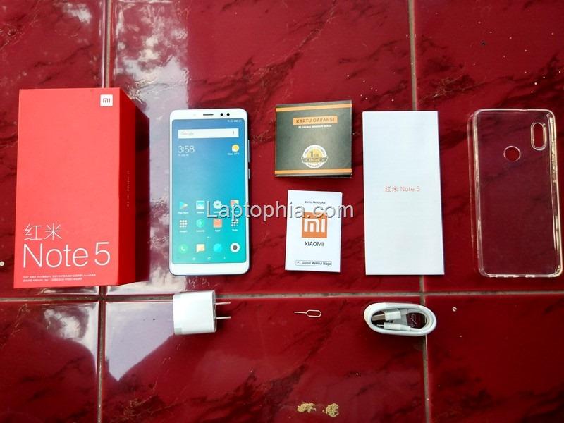 Paket Pembelian Xiaomi Redmi Note 5