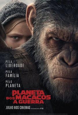 Filme Poster Planeta dos Macacos - A Guerra