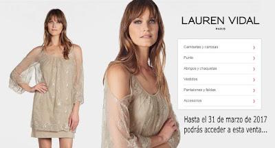 Aprovecha esta oferta de ropa para mujer de Lauren Vidal