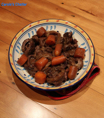 Carole's Chatter: Slow Cooked Beef Shin on the Bone