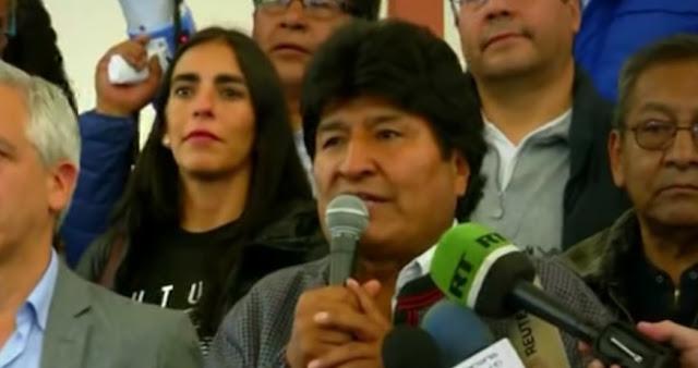 Renuncia el presidente de bolivia Evo Morales