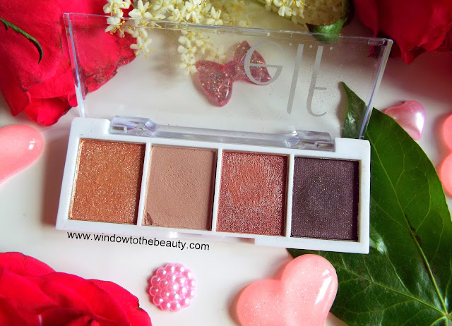 Elf Bite Size Palette Rose Water review and swatches