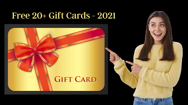 Gift Cards in the world