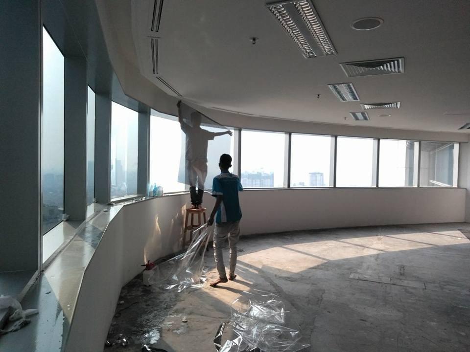 pasang kaca film hotel Medan Satria Bekasi