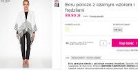 http://ebutik.pl/product-pol-153911-Ecru-ponczo-z-czarnym-wzorem-i-fredzlami.html?affiliate=marcelkafashion