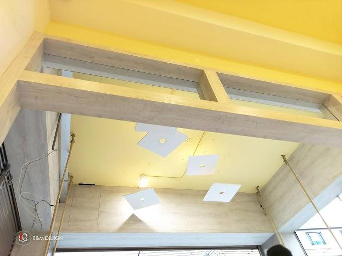 漂浮系列之漂浮的天花板吊燈