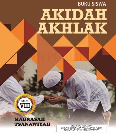 Buku Akidah Akhlak MTs Kelas 8 - KMA 183 2019