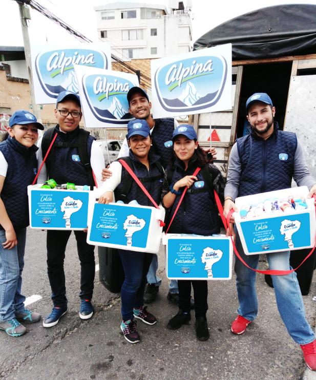 "Alpina lanzó su campaña ""Misión Ecuador Huesos + Fuertes"""