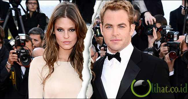 Chris Pine dan Dominique Piek