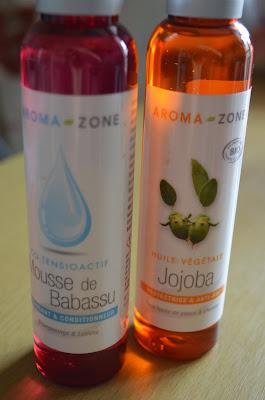 Démaquillant naturel, huile de jojoba, mousse de babassu, aromazone, slow cosmétique