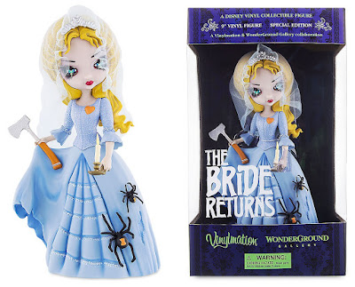 "The Haunted Mansion The Bride Returns 9"" Vinylmation Figure by Jasmine Becket-Griffith & Disney"