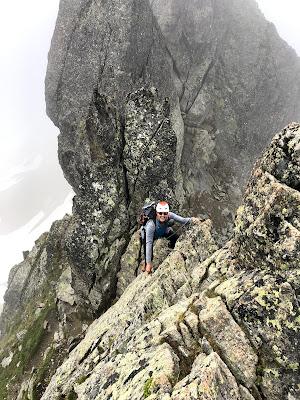 Magnificent ridge scrambling