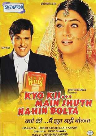 Kyo Kii… Main Jhuth Nahin Bolta 2001 Full Hindi Movie Download HDRip 720p