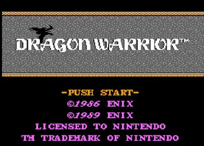 The Crpg Addict Game 349 Dragon Warrior 1986