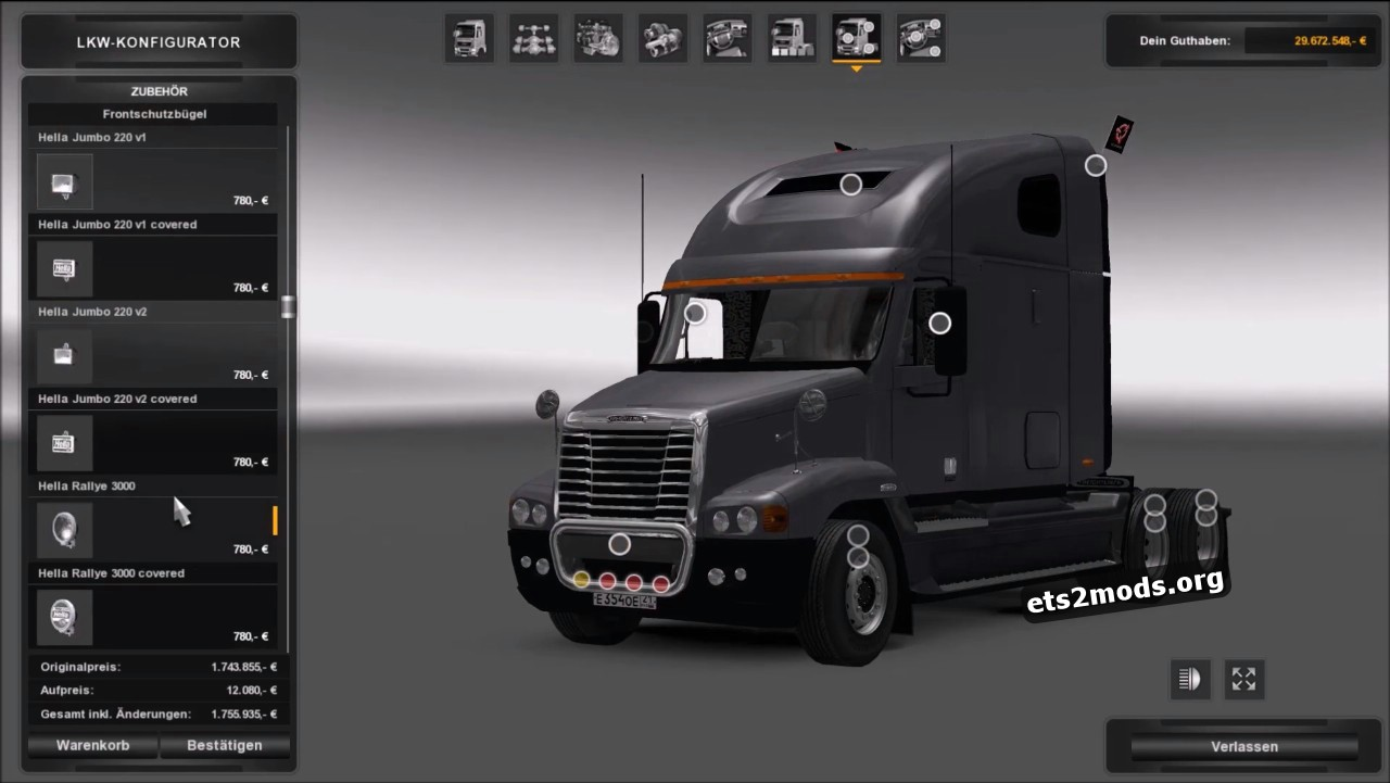 Truck - Freightliner Century ST