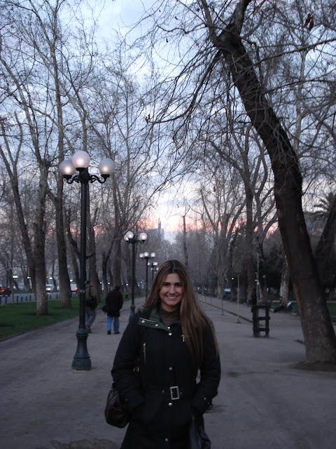 Parque Florestal, Santiago.