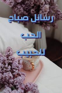 رسائل صباح الحب للحبيب عبارات شوق وحب رومانسية صباحية