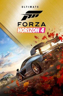Capa do Forza Horizon 4 - Ultimate Edition