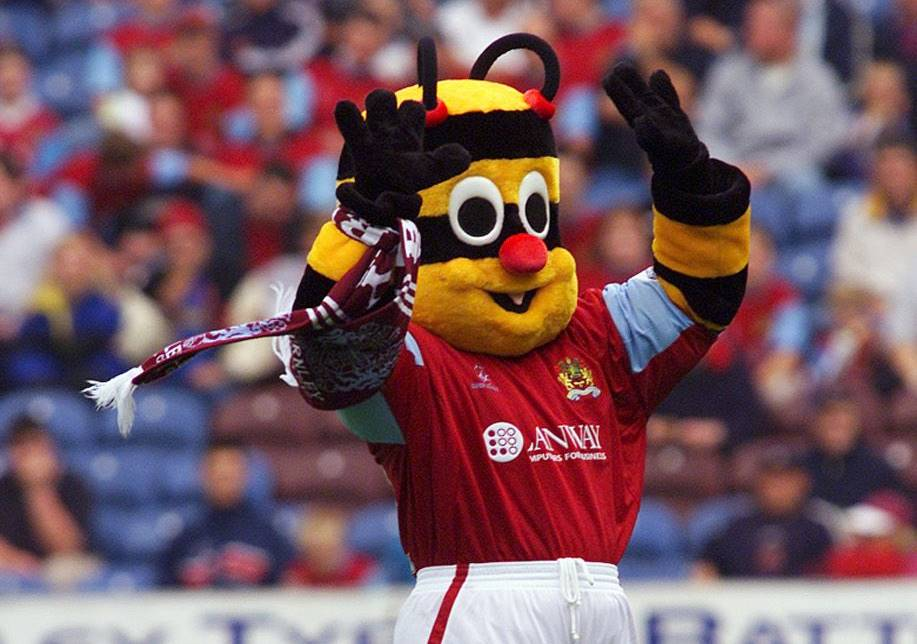 Burnley-mascot-Bertie-Bee