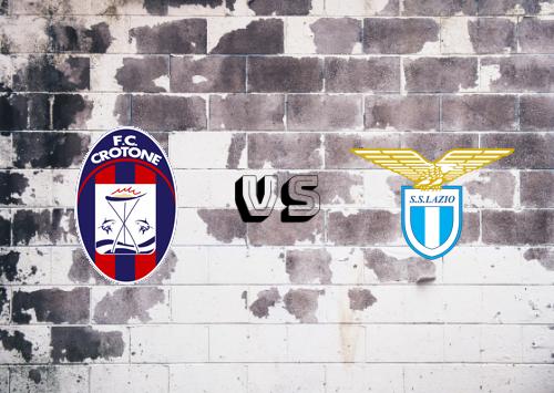 Crotone vs Lazio  Resumen