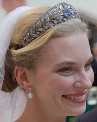 sapphire tiara luxembourg grand duchess marie adelaide archduchess gabriella austria