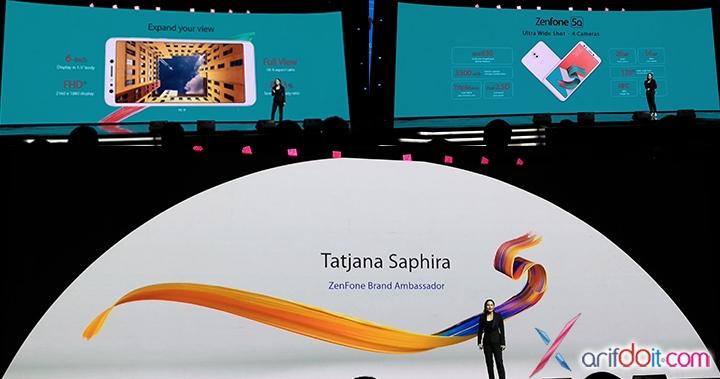 Tatjana Saphira Sebagai Zenfone Brand Ambassador