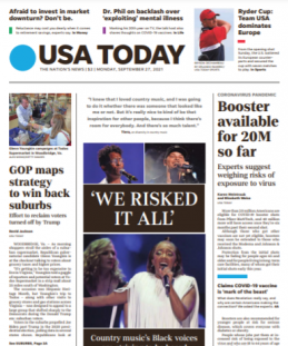 Read Online USA Today Magazine 27 September 2021 Hear And More USA Today News And USA Today Magazine Pdf Download On Website.