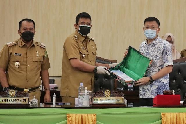 Pemko Medan Usulkan Ranperda Penetapan Zonasi Aktifitas PKL