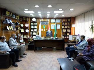 وكيل وزارة الصحة يجتمع بمديري الإدارات الفنية إستعدادا لمنظومة التأمين الصحي