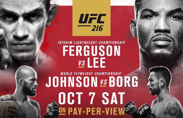 UFC 216 Countdown