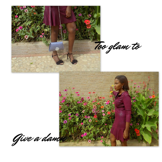 FashionDRA | Lookbook: Marsala Velvet dress x Arshia party bag