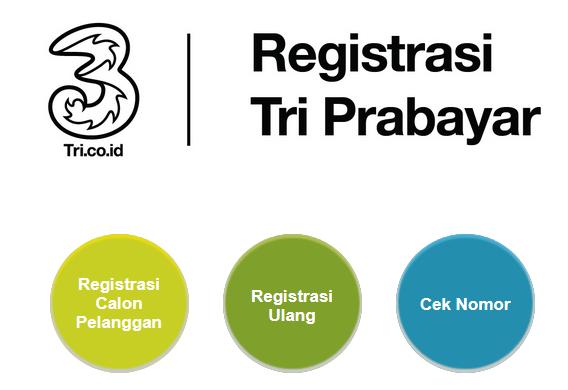 3 Cara Registrasi Dan Daftar Ulang Kartu Prabayar Tri