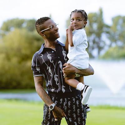 Zion Wizkid's son photos