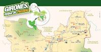 Nou mapa turístic per promocionar la comarca del Gironès