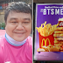BTS Army help raise over P40K donations to Food Panda rider who gave adorable shoutout during the launching of BTS meal