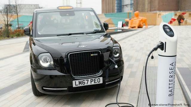 Kota London Mulai Kembangkan Taksi Listrik