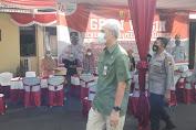 Gubernur Jateng Tinjau Vaksinasi Merdeka Candi di Polres Purbalingga