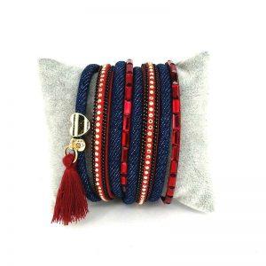 bracelet miltirangs cadeau