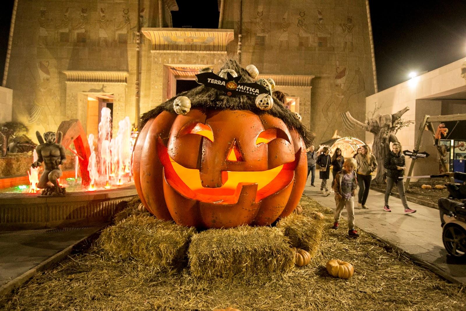 Halloween de Terra Mítica 2019