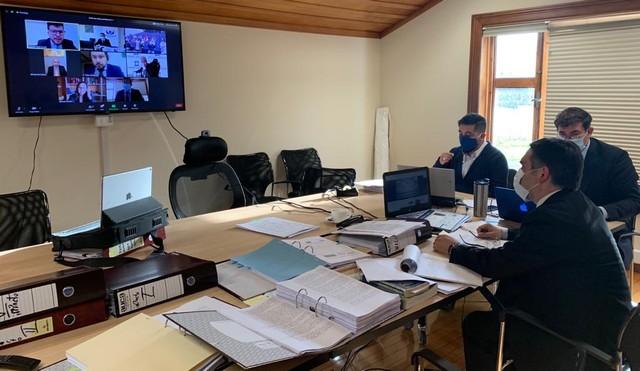 Formalización vía videoconferencia