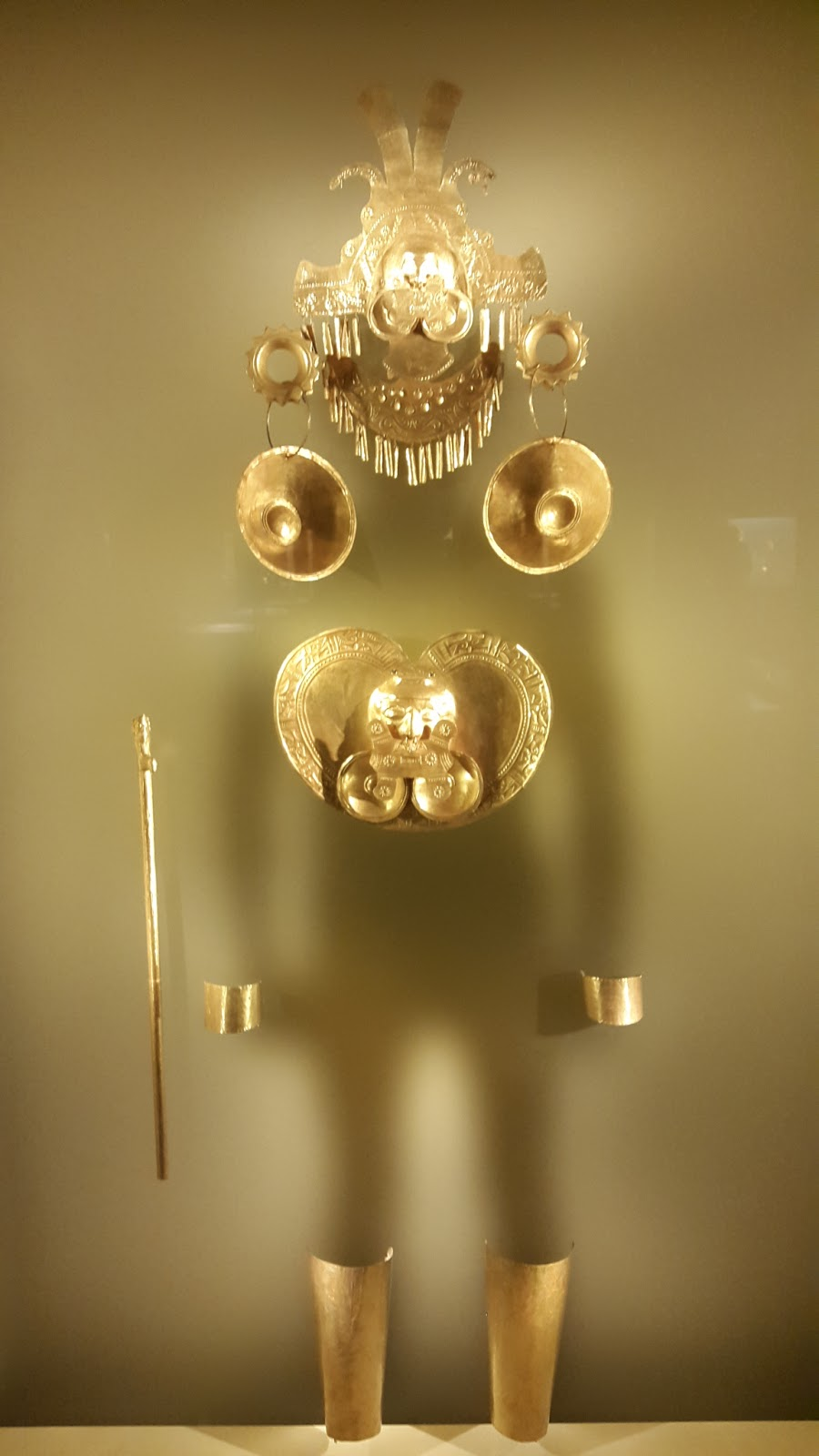 Goudmuseum in Bogota in Colombië