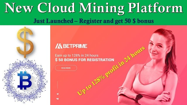 betprime.cc. new cloud mining site 2020 free 50 USD sign up bonus