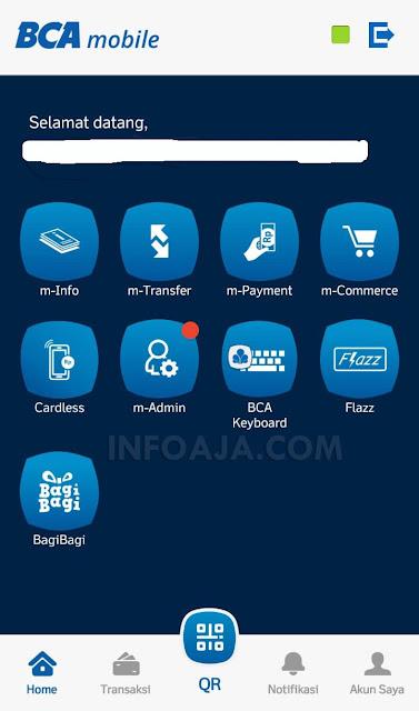 Aktivasi Debit Online BCA Mastercard Dari HP