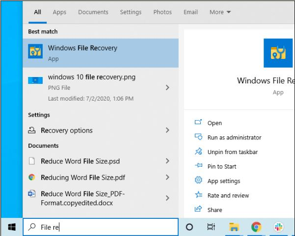 Cara Menggunakan Windows File Recovery Tool di Windows 10-2