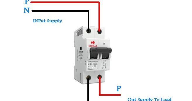 Double Pole Breaker Wiring In UrduHindi Video Tutorial  Electrical Tutorials